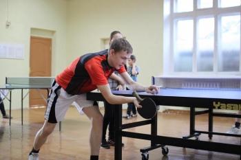 В Воркуте прошли соревнования по настольному теннису среди молодежи